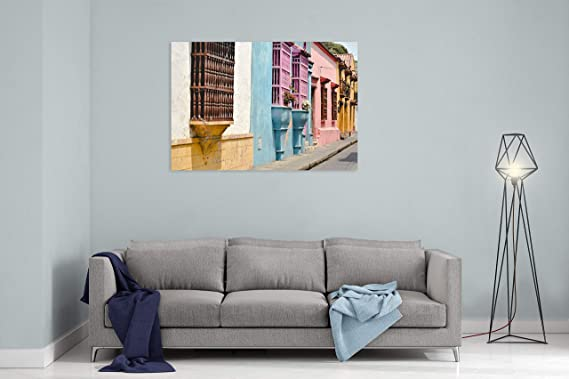 Amazon.com: Home Decor Path Walkway and Urban in Cartagena ...