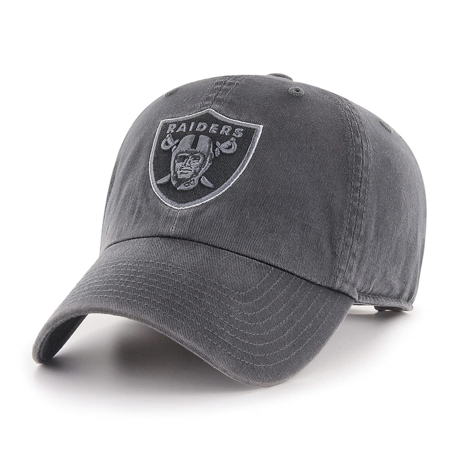 OTS NFL Oakland Raiders - Gorra Ajustable, Color Gris Oscuro ...