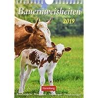 Bauernweisheiten - Kalender 2019: Bauernregeln, Brauchtum, Gartentipps, Haushaltstipps