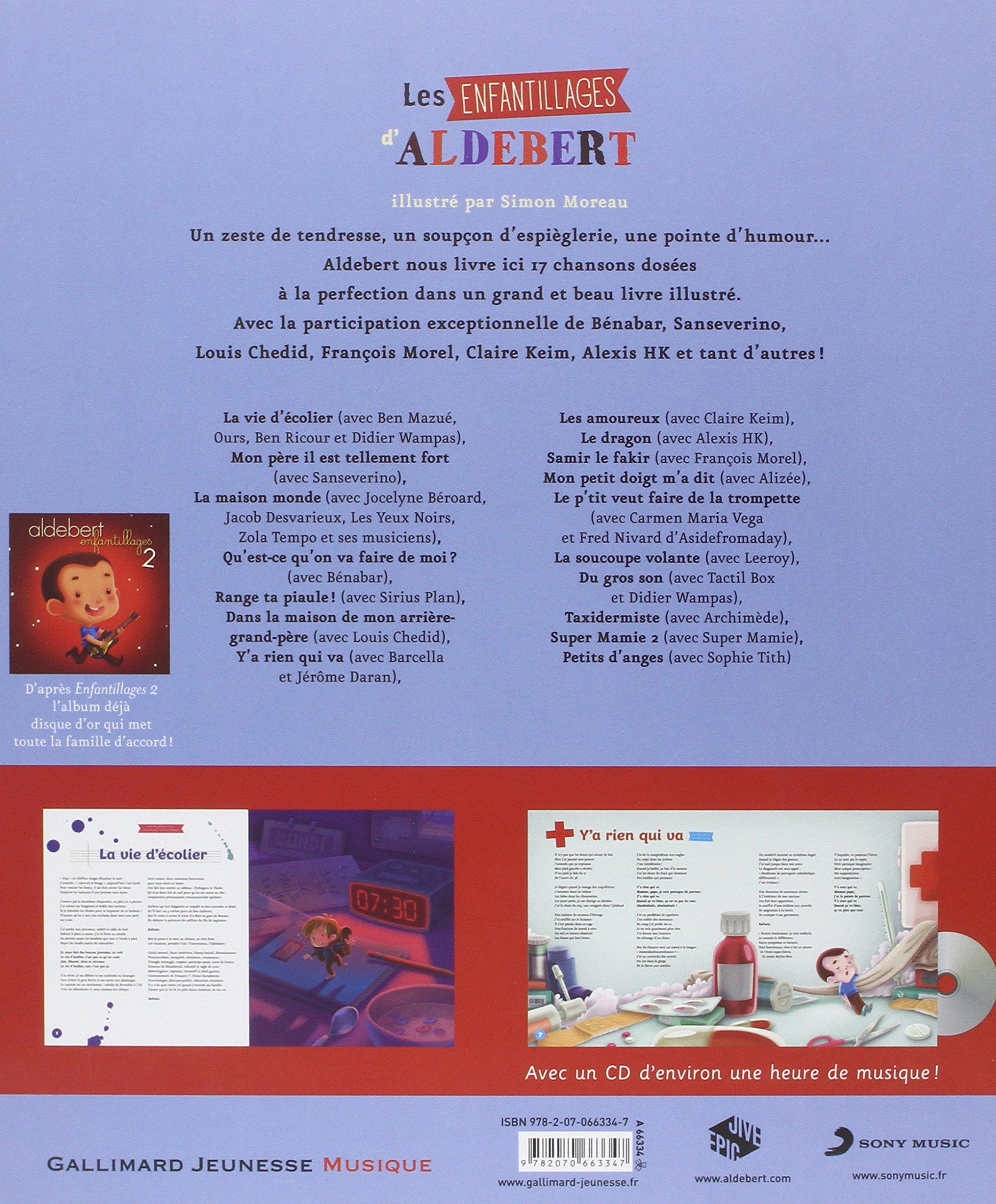 Les enfantillages d'Aldebert Hors Série Musique French Edition ...