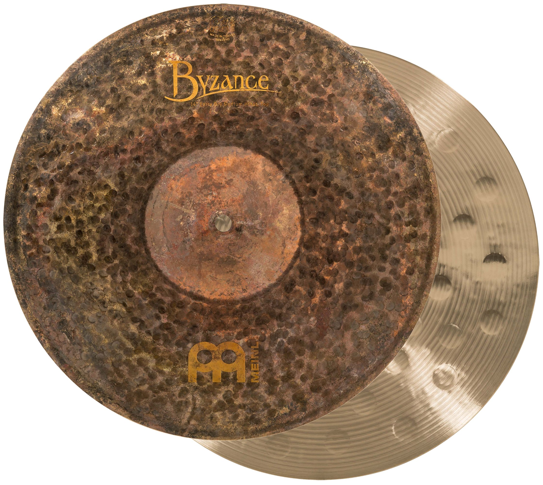 Meinl Cymbals B14EDMH Byzance 14-Inch Extra Dry Medium Hi-Hat Cymbal Pair (VIDEO) by Meinl Cymbals