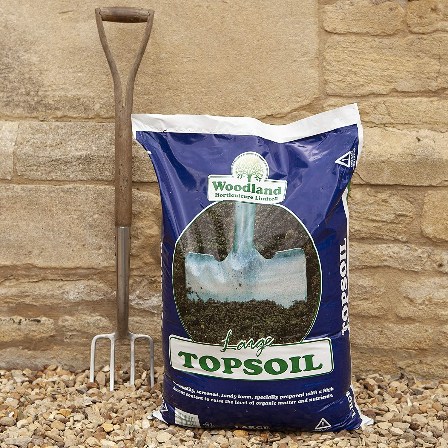 You Garden Limited Screened Topsoil 25kg Bag, None 3_100071