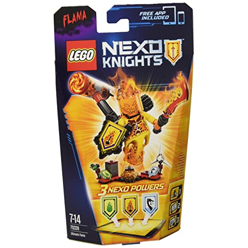 LEGO - 70339 - Nexo Knights  - Jeu de Construction -L'Ultime Flama