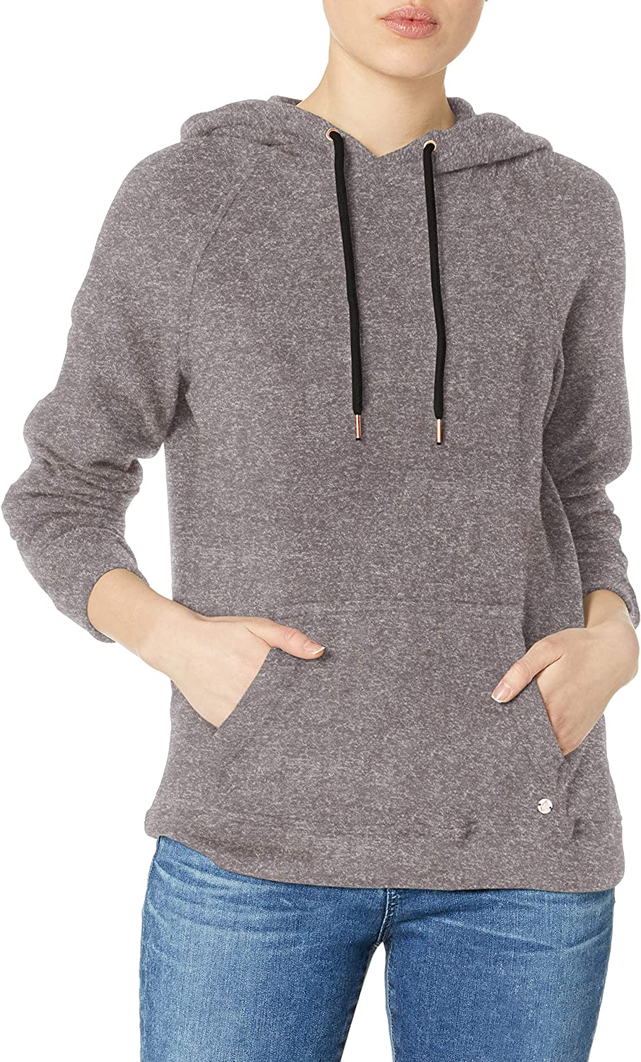 Volcom Lil Women's Pullover Hoody - Charcoal Grey