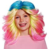 Child Lady Glitter Sparkles Wig Trolls 25075