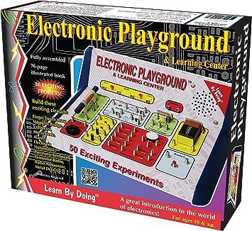 Elenco - Juguete de electrónica Electronics EP-50 (versión en inglés): Amazon.es: Juguetes y juegos