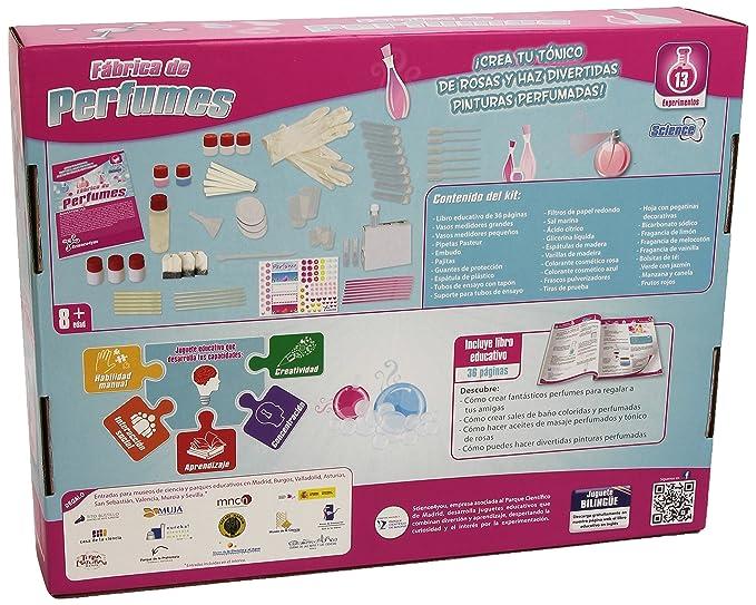 Science4you - Fabrica de perfumes - juguete científico y educativo: Amazon.es: Juguetes y juegos