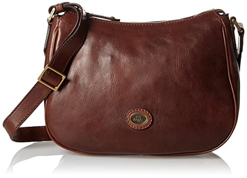 10e753743a5 The Bridge Messenger Bag 04716901-14 Brown: Amazon.co.uk: Luggage