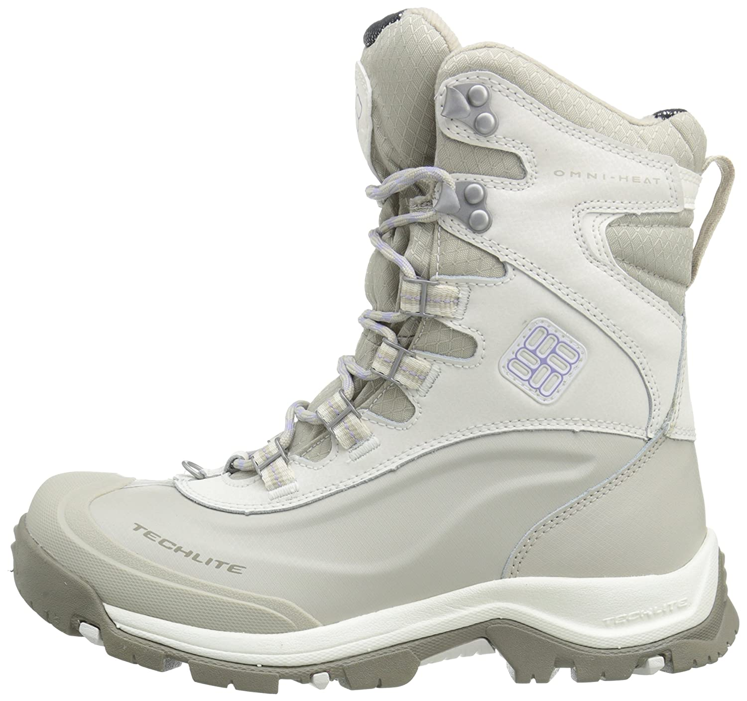Columbia Women's Buga Plus III 9 Omni Heat Boot B00Q7WLC48 9 III B(M) US|Sea Salt/Twili 49b546