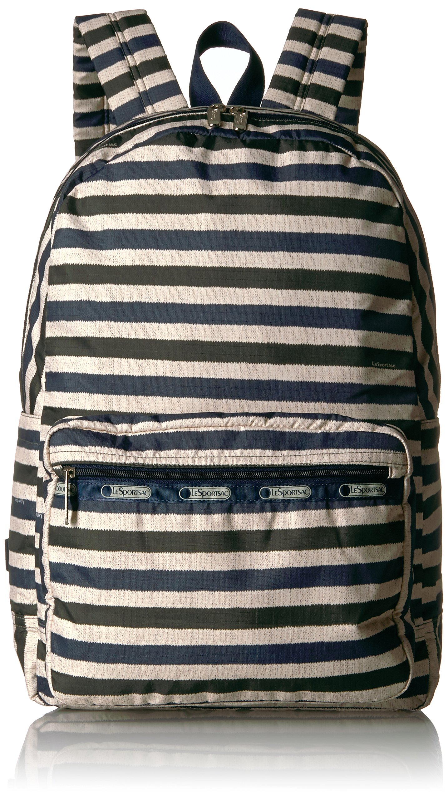 LeSportsac Women's Classic Essential Backpack, Cotton Stripe