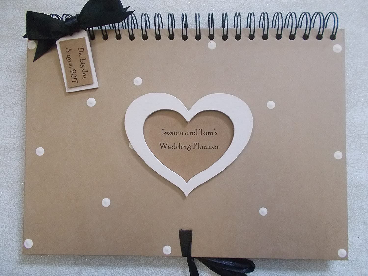 PERSONALISED HEN OR STAG GUEST BOOK SCRAPBOOK QUICK POSTING A5 OR A4