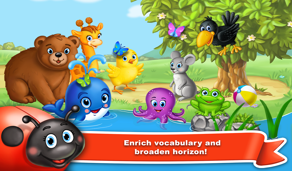 Colores de aprendizaje para bebés - juego educativo