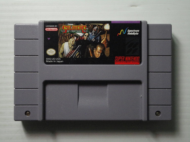 Amazon.com: Soldiers of Fortune - Nintendo Super NES: Video ...