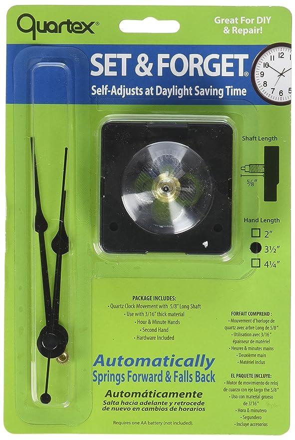 Amazon.com: Quartex Set & Forget Clock Movement Set (3/16
