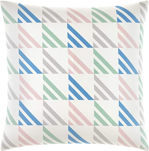 Now House by Jonathan Adler Matteo Throw Pillow 18 x 18 Multicolored