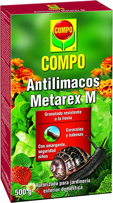 Compo 2292502011 Antilimacos 500 G, 20.5x11.5x3.8 cm: Amazon.es ...