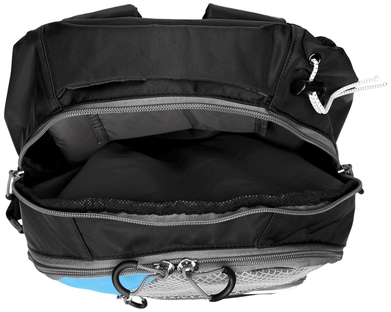 STX Lacrosse Sidewinder Lacrosse Backpack, Black/Columbia by STX (Image #3)