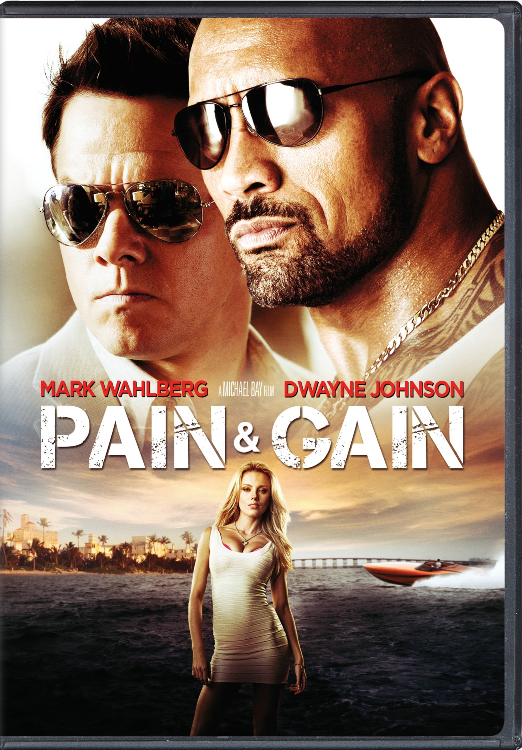 DVD : Pain and Gain (, Dubbed, Widescreen, Dolby, AC-3)