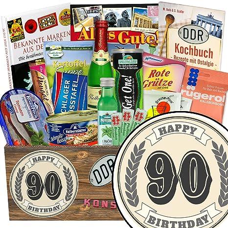 90 Geburtstagsgeschenk Spezial Geschenk Box Geschenk Ideen