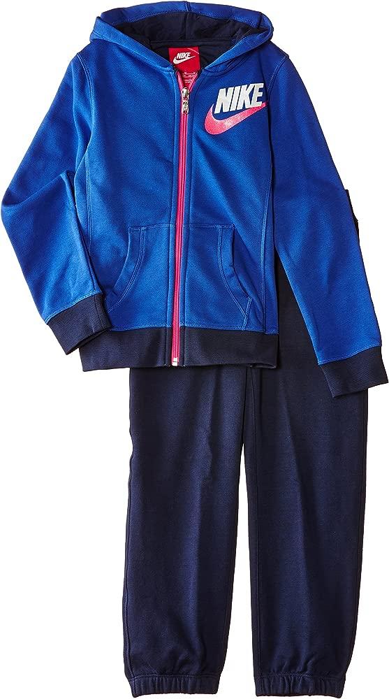 Nike Warm-Up - Chándal de Fitness para niña, Color Azul (Game ...