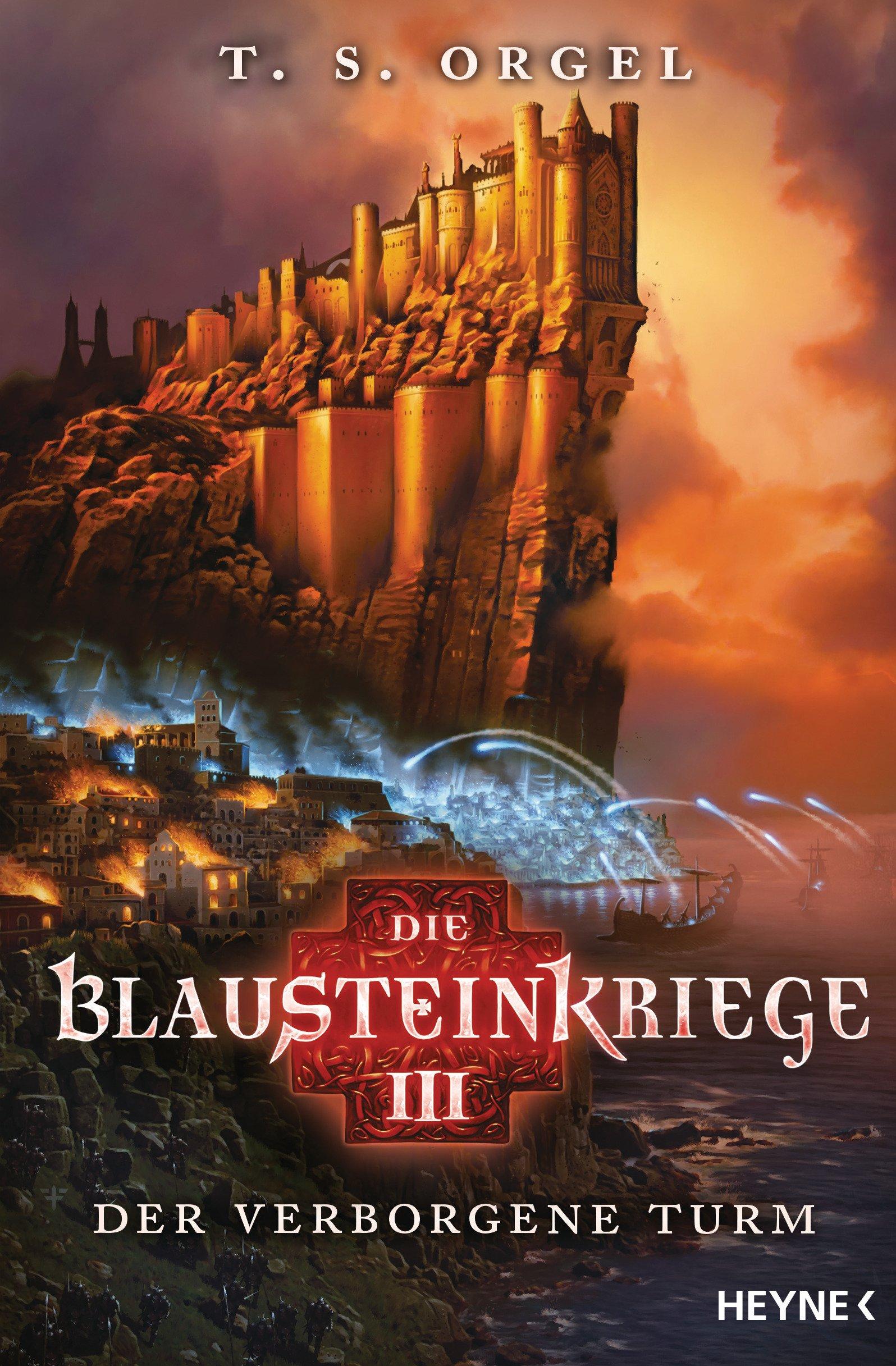 Die Blausteinkriege 3 - Der verborgene Turm: Roman