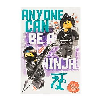 Hallmark Carte Lego Ninja Go Secret Code Message Carte D