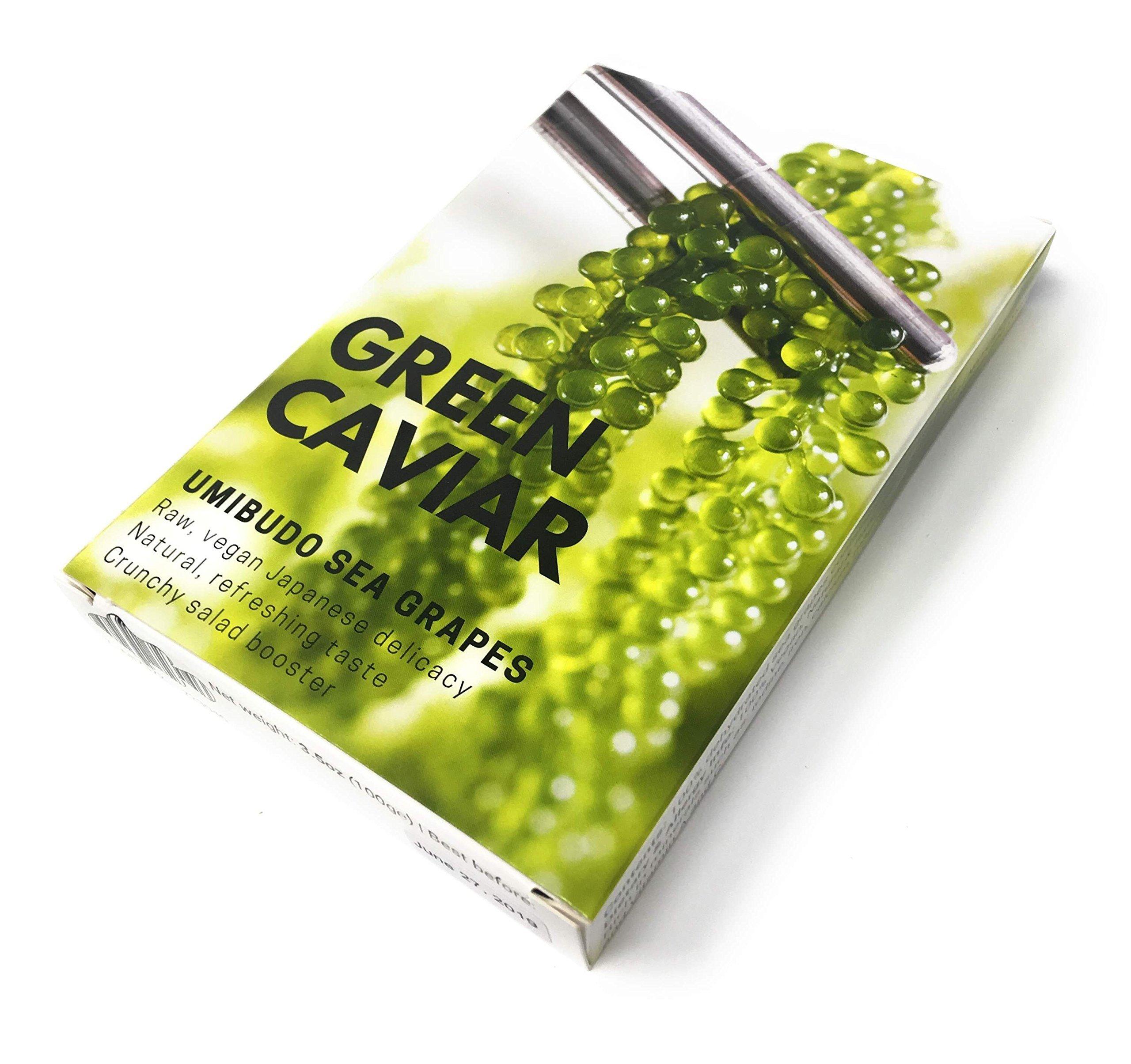 Green Caviar – Umibudo Sea Grapes | Japanese Delicacy Seaweed 3.5oz