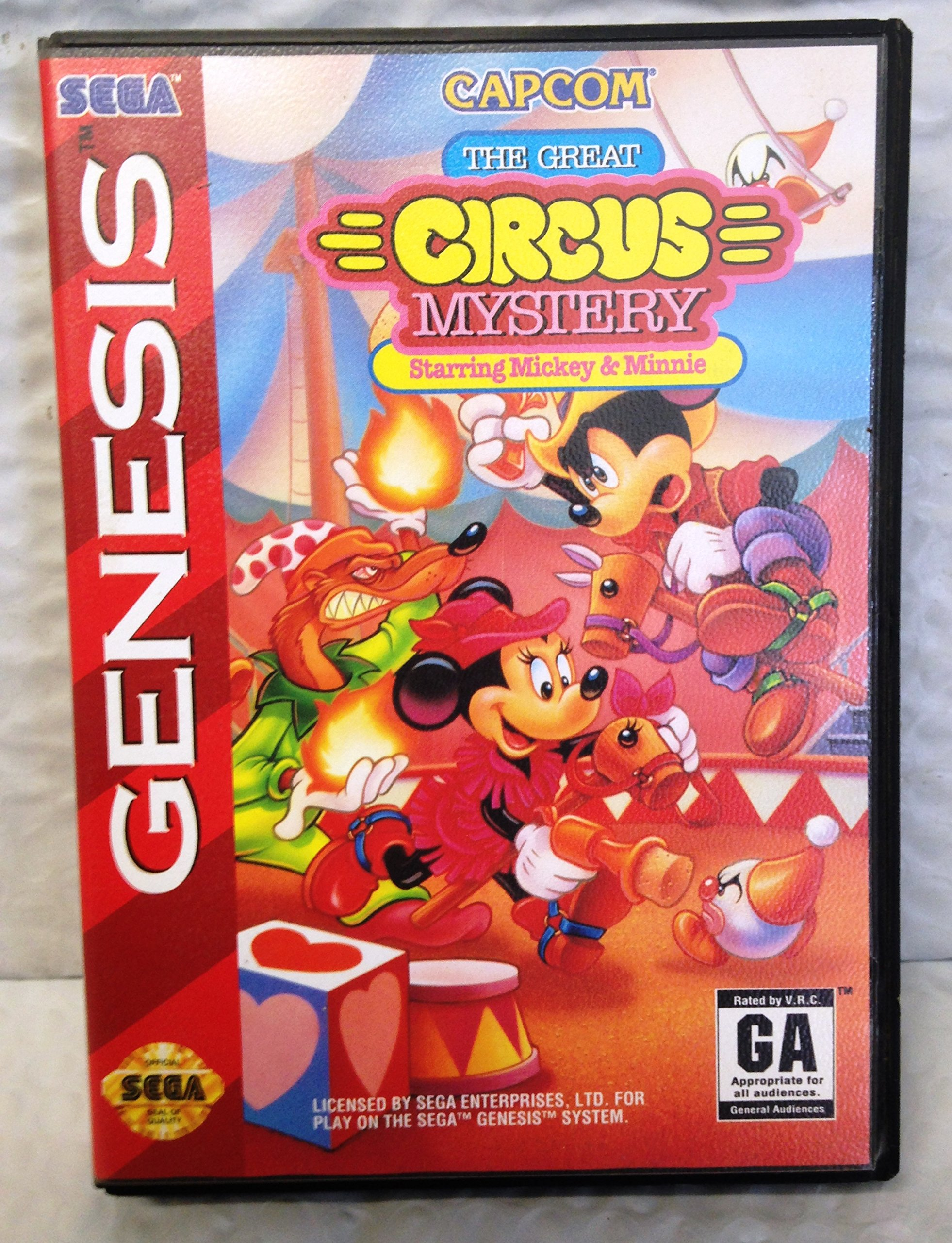 Amazon com: The Great Circus Mystery:starring Mickey and Minnie:Sega
