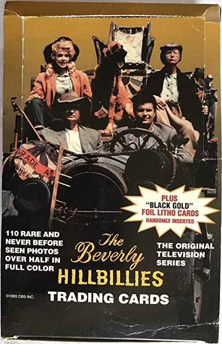 2 box of  Beverly Hillbillies Collectible Trading Card 36 Pack Box
