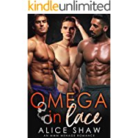Omega In Lace: A MMM Menage Romance (Non-Shifter Mpreg Omegaverse) (English Edition)