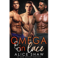Omega In Lace: A MMM Menage Romance (Non-Shifter Mpreg Omegaverse) (English Edition)