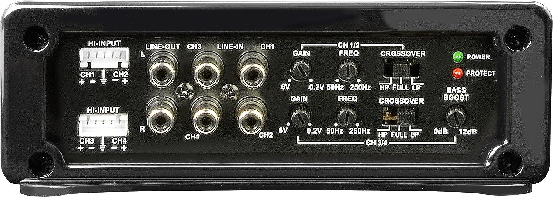 Spectron Sp N4207 4 Kanal Verstärker 4 X 100 Watt Elektronik
