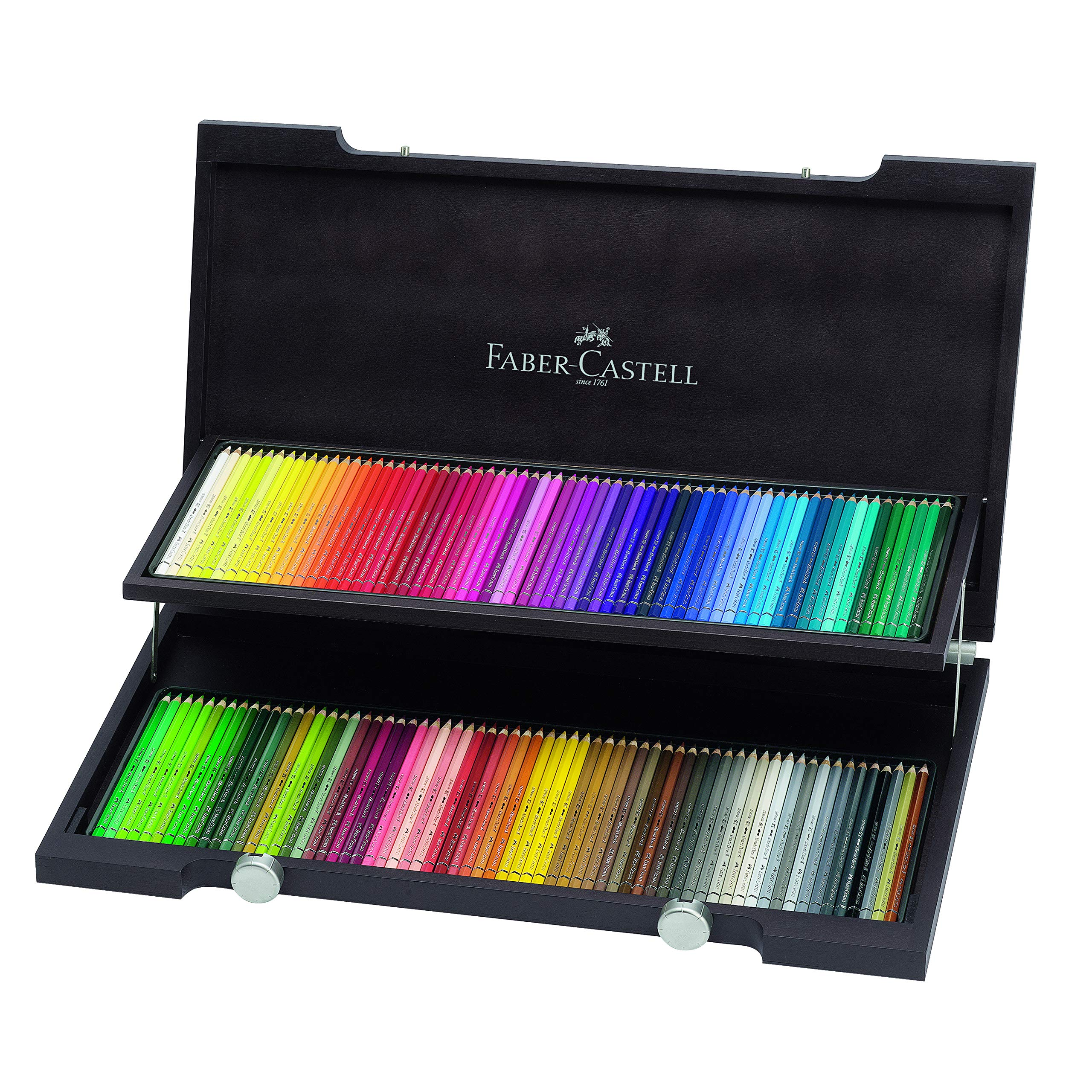 Faber-Castell Albrecht Durer Watercolor Pencil Wood Case, Set of 120 Colors (FC117513)
