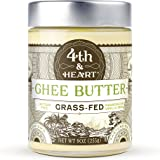 4th & Heart Vanilla Bean Grass-Fed Ghee Butter, 9 Ounce