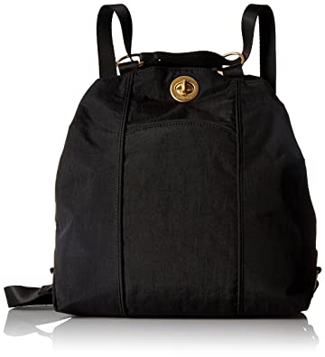 f1080ba16f92 Amazon.com  Baggallini Gold International Mendoza BLK Back pack ...