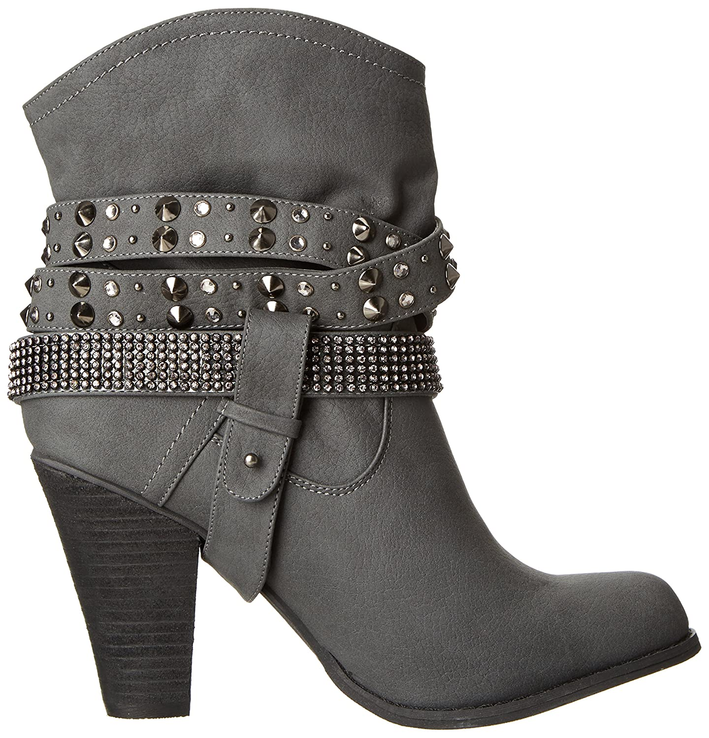 Not Rated B00JH394C6 Women's Double Dip Harness Boot B00JH394C6 Rated 10 B(M) US|Grey 3438f6
