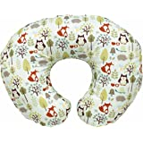 Chicco Boppy Pillow with Cotton Slip Cover - Woodsie