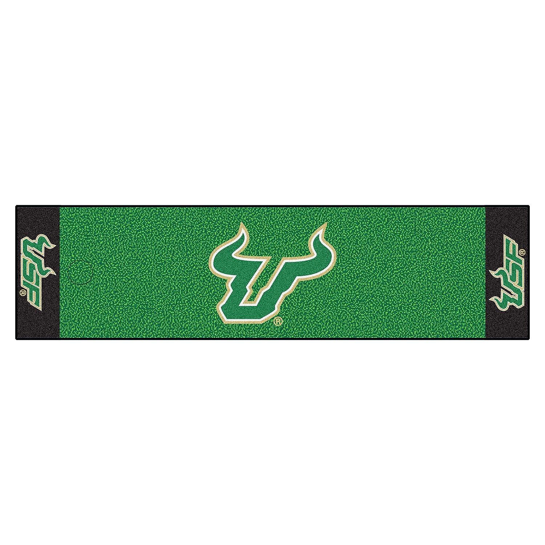 NCAA University of South Florida Bulls Puttingグリーンマットゴルフアクセサリー   B07F1X6R7Y