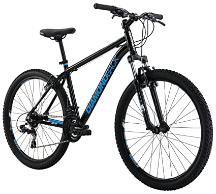 "9a808b6ed3c Diamondback Bicycles Sorrento Hard Tail Complete Mountain Bike, 16""/ Small, Black"