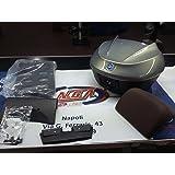 Kit porte-bagages complet pour Piaggio MP3Business 769/B, 36litres, gris