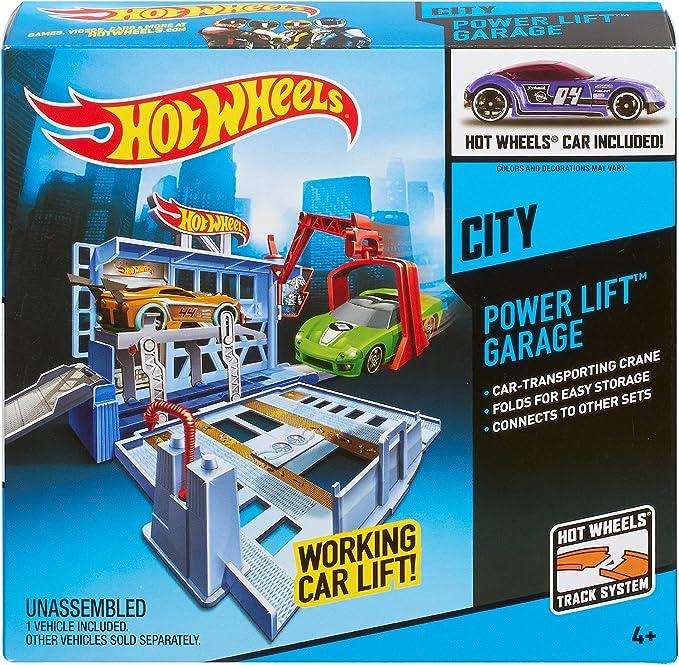 Hot Wheels City Power Lift Garage Playset BGH98