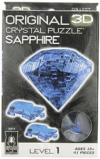 Crystal Puzzle - Sapphire - Gem University Games 30914