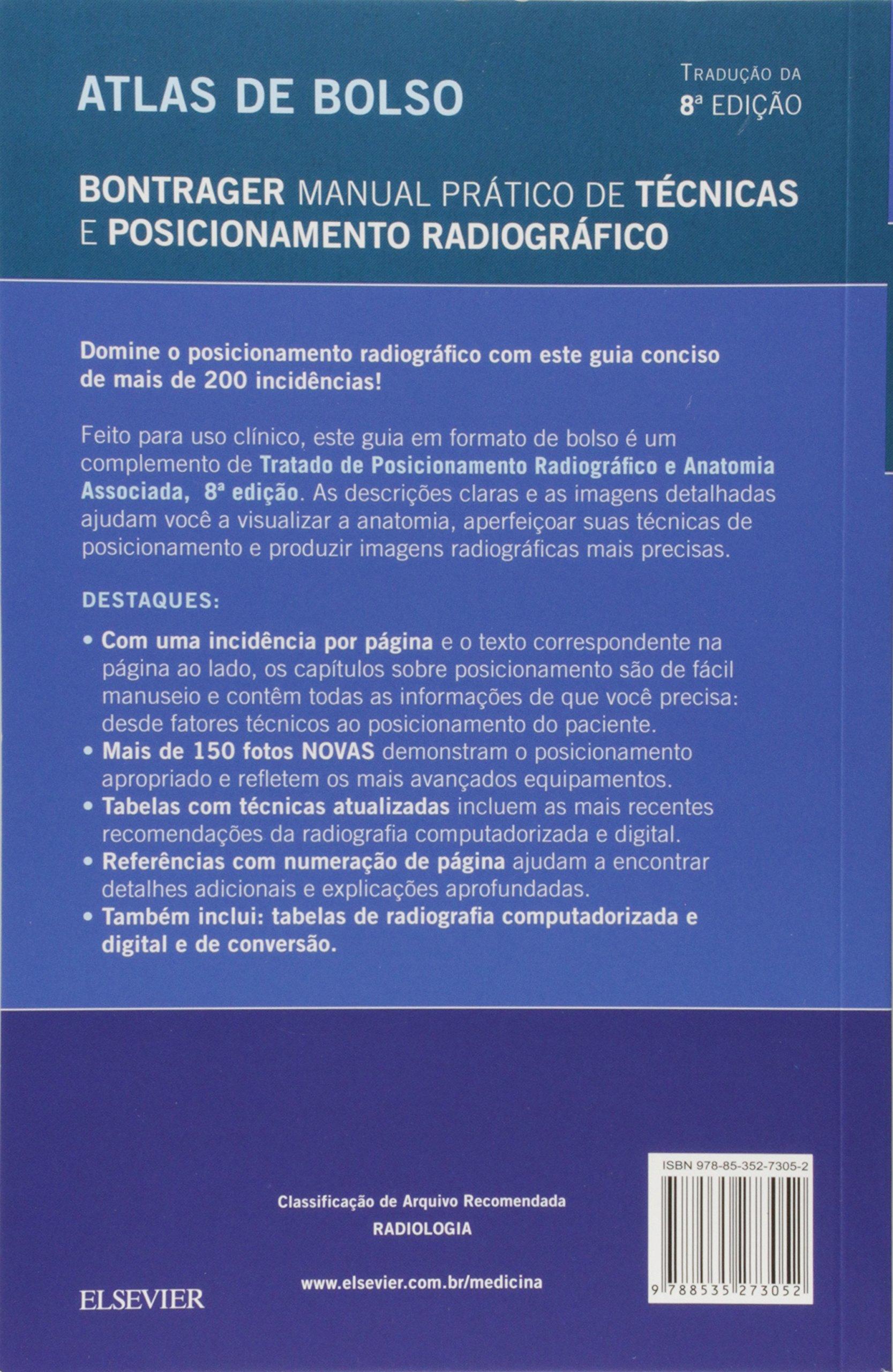 Tratado De Posicionamento Radiografico E Anatomia Associada Pdf