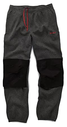 8fce4b37c7 Scruffs Vintage Fleece Jogger Pants Dark Grey (Sizes S-XXL) Knee Pad Insert