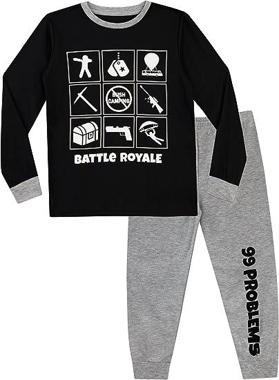Long Bottom Pj 100/% Cotton Age 9-16 FORTNITE Pyjama Set for Boys T-Shirt