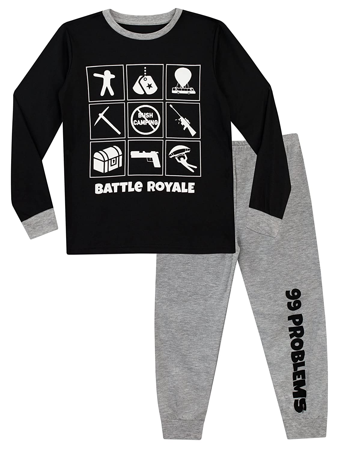 Battle Royale Boys' Gaming Pajamas