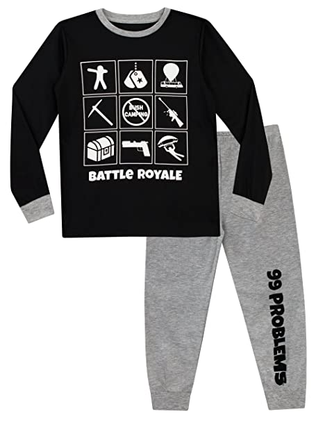 e7ec11cf Battle Royale Boys Gaming Pajamas: Amazon.ca: Clothing & Accessories