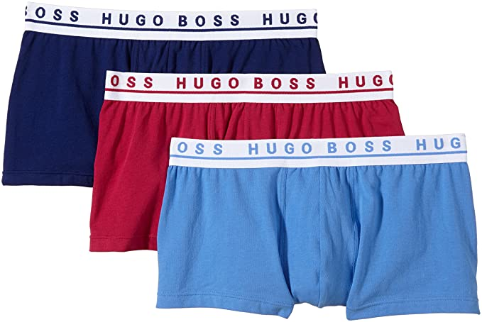 BOSS Hugo Boxer 3 Pack FN Solid, Bóxer para Hombre, Pack de 3: Amazon.es: Ropa y accesorios