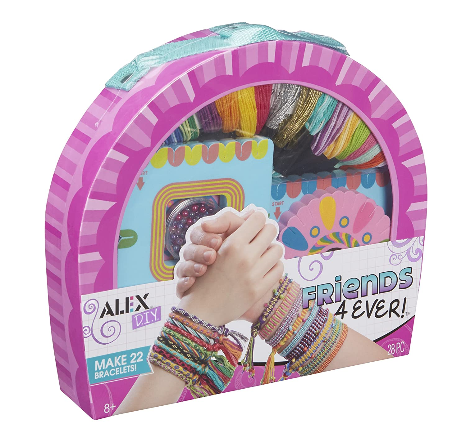 Alex 737WX-5 Cofanetto Braccialetti Dell'Amicizia, 22 Bracciali Alex Toys Crafts for Children