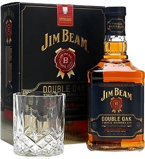 Jim Beam Double Oak Gift Set